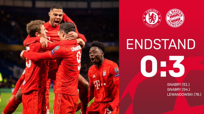 Highlights Chelsea vs Bayern Munich 0-3 Video Download